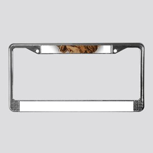 antique easter License Plate Frame