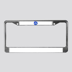 Record Adapter License Plate Frame