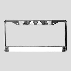 Brooklyn Bridge New York City License Plate Frame