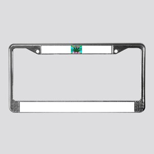 happy 420 License Plate Frame