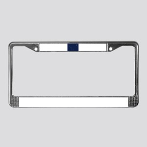Musical Flag of Alaska License Plate Frame