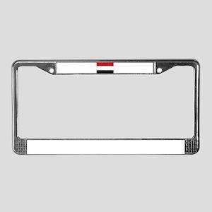 8 bit flag of License Plate Frame