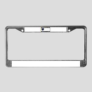 Alaska State License Plate License Plate Frame