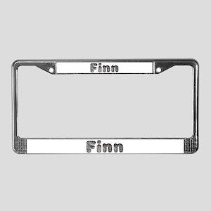 Finn Wolf License Plate Frame