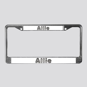 Allie Wolf License Plate Frame