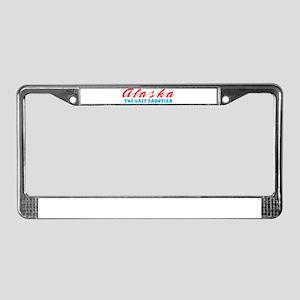 Alaska - Last frontier License Plate Frame