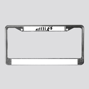 Evolution Aikido License Plate Frame