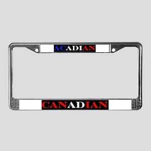 Acadian Canadian License Plate Frame