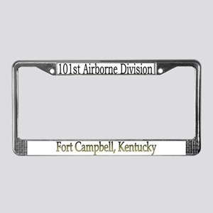101ST ABN DIV License Plate Frame
