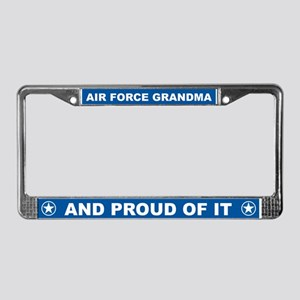 Air Force Grandma License Plate Frame