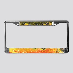Brook Trout License Plate Frame