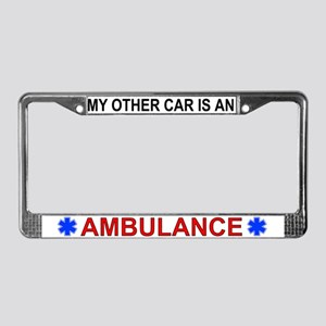 My Other Car is An Ambulance License Plate Frame