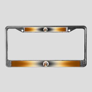 BEAR Paw 1 License Plate Frame