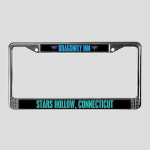 Dragonfly Inn License Plate Frame