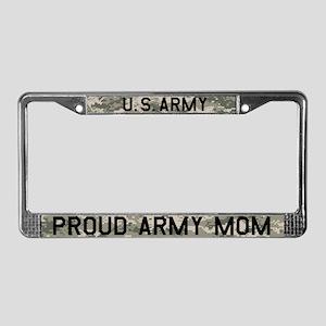 Army Mom Licence Plate Frame