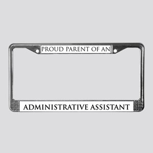 Proud Parent: Administrative  License Plate Frame
