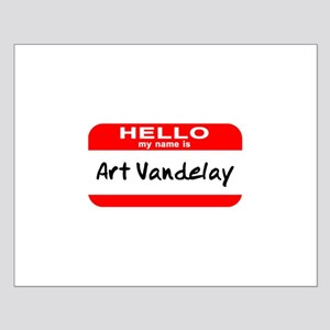 Hello My Name Is Vandelay Small Poster