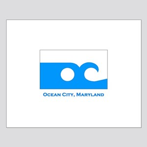 Ocean City MD Flag Small Poster