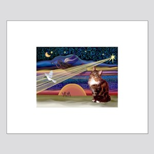 XMas Star / Maine Coon Small Poster