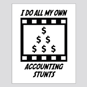 Accounting Stunts Small Poster
