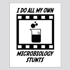 Microbiology Stunts Small Poster