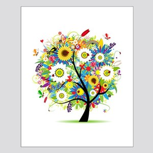 summer tree Small Poster