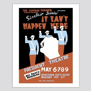 It Can't Happen Here - Small Poster