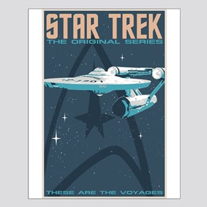 Retro Star Trek: Tos Poster Small Poster