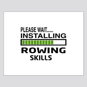 Please wait, Installing Rowing Skills Small Poster