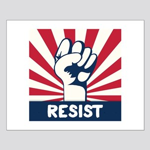 RESIST Fist Small Poster