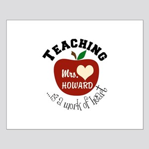 Personalize teaching: work of heart Posters