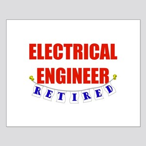 Retired Electrical Engineer Small Poster