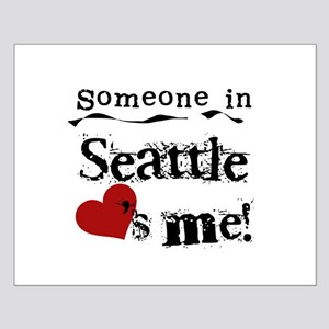 Seattle Loves Me Small Poster