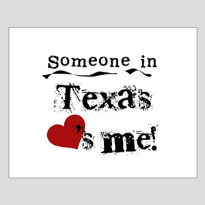 Someone in Texas Small Poster
