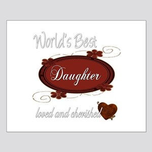 Cherished Daughter Small Poster