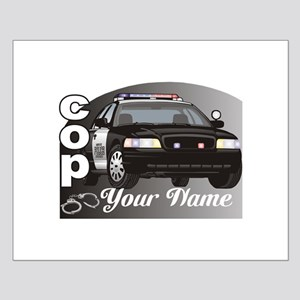 Custom Personalized Cop Posters