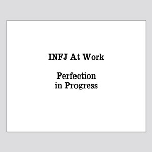 INFJ At Work Small Poster