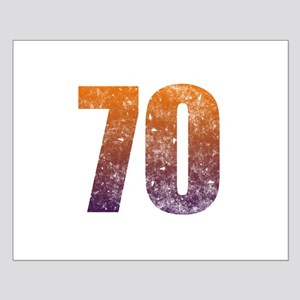 Cool 70th Birthday Small Poster