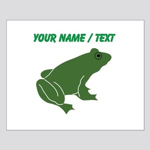 Custom Green Toad Poster Design