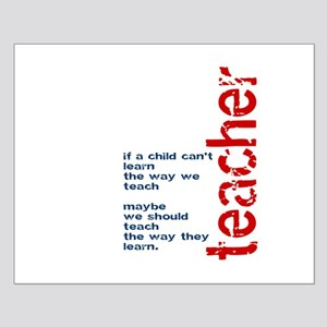 If A Child Cant Learn ... Teacher Posters