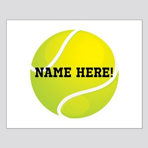 Personalized Tennis Ball Posters