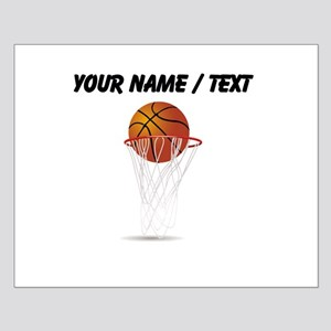 Custom Basketball Hoop Posters