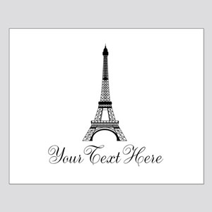 Personalizable Eiffel Tower Posters
