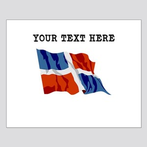 Custom Dominican Republic Flag Posters