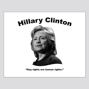Hillary: GayRights Small Poster