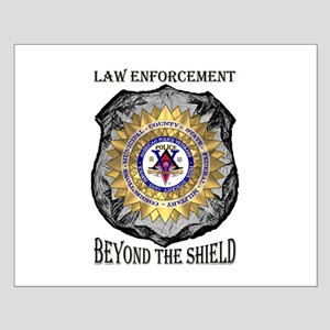 Beyond the Shield Small Poster