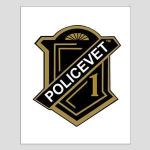 Policevets Shield Small Poster