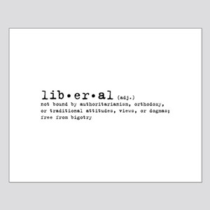 Liberal By Definition Small Poster