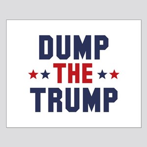 Dump The Trump Small Poster