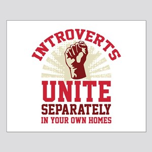 Introverts Unite Small Poster
